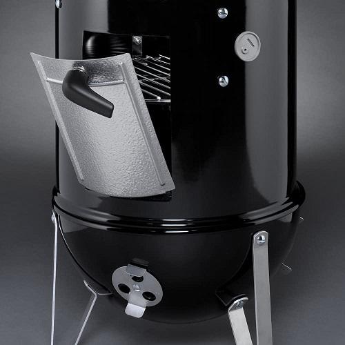 Smokey Mountain Weber door to add charcoal