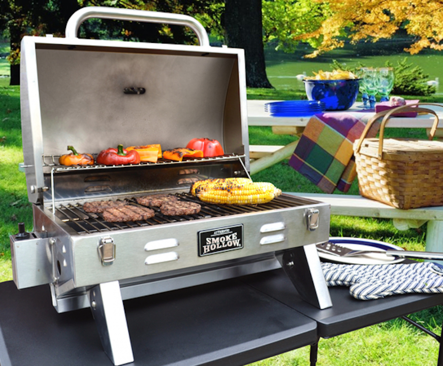 best portable barbecue with cover lid for garden
