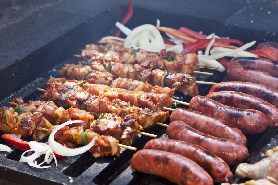 best taste for meat skewers cooking gas bbq