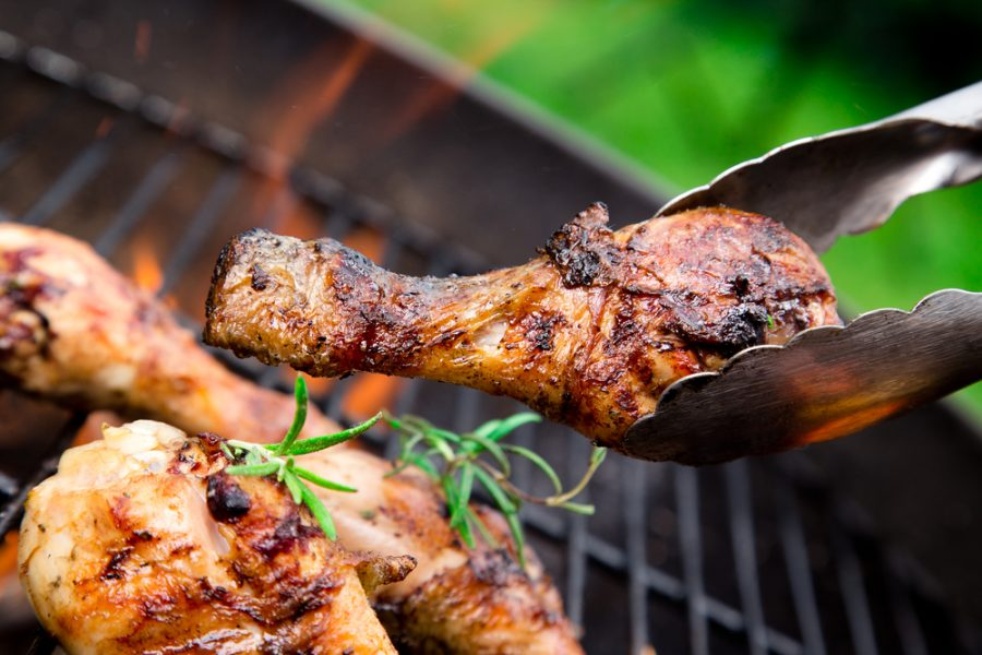 charcoal bbq cook every meat chicken vegetables with better taste