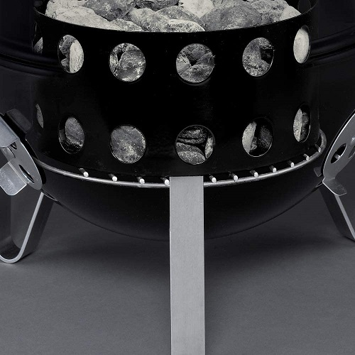charcoal tank fuel deposit smokey mountain weber