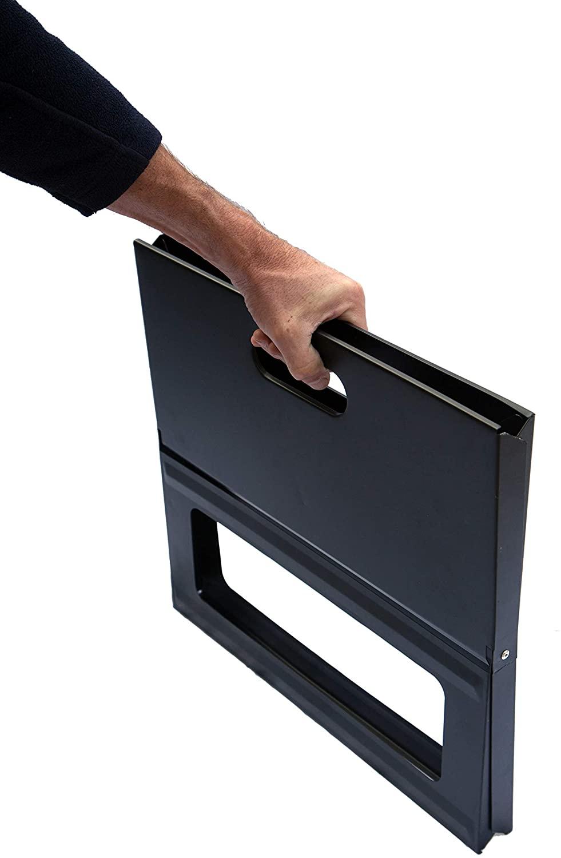 easy storage a portable bbq