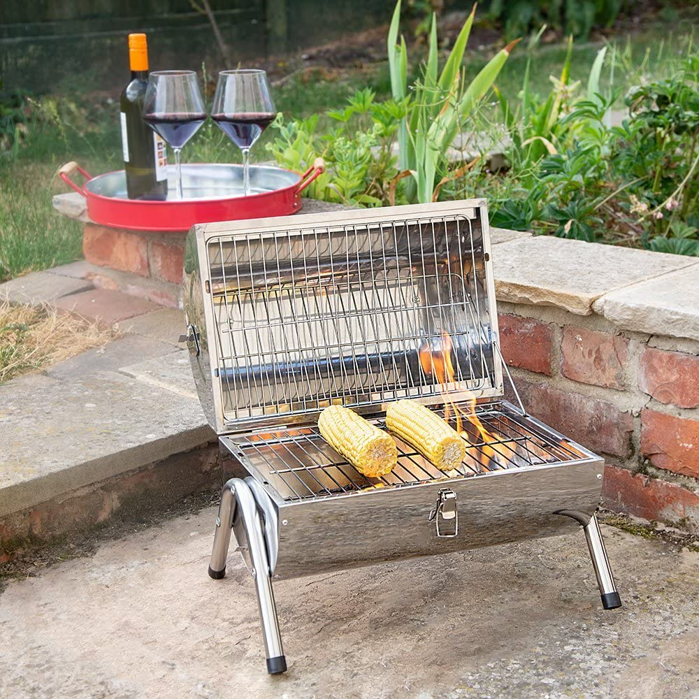 enjoy a barbeque day with a portable bbq