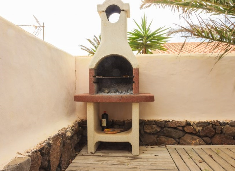 best location for your Brick Barbecue?