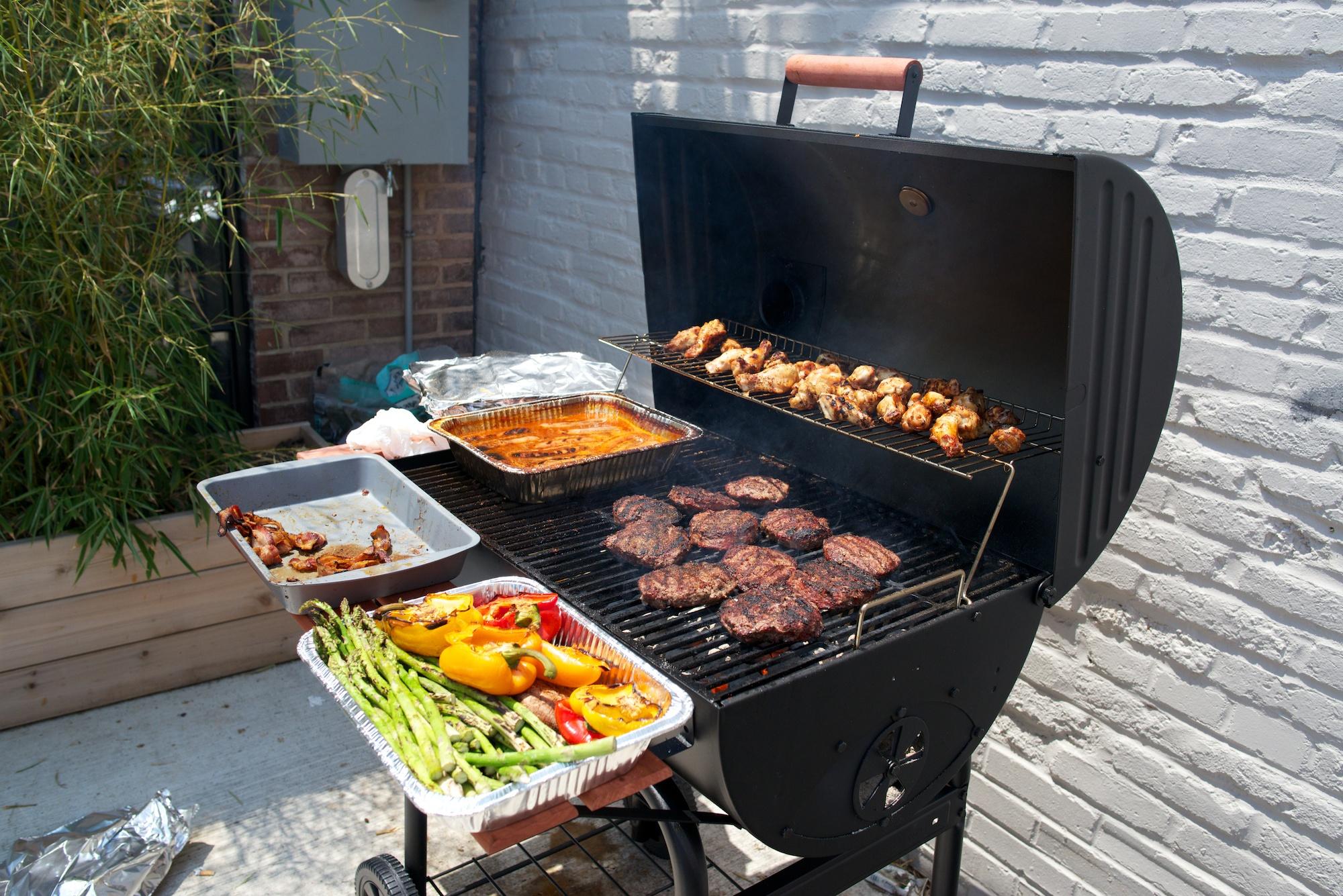 new-cheap coal bbq-grill