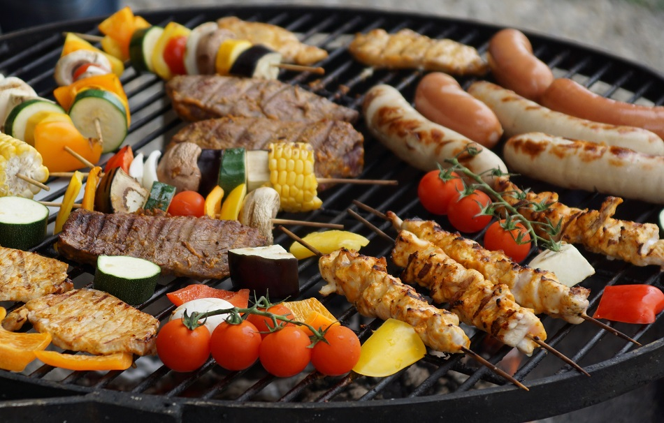 portable barbecue or fixed bbq