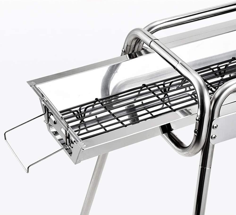 uten mini bbq stainless steel