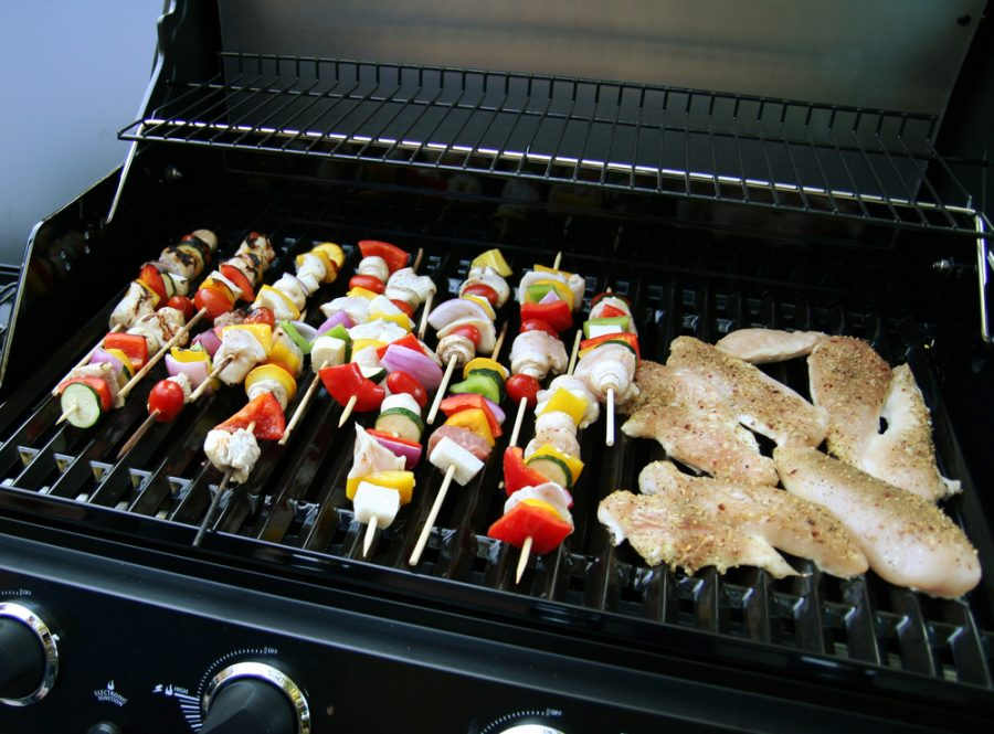 where place a gas bbq safe for kids and guests