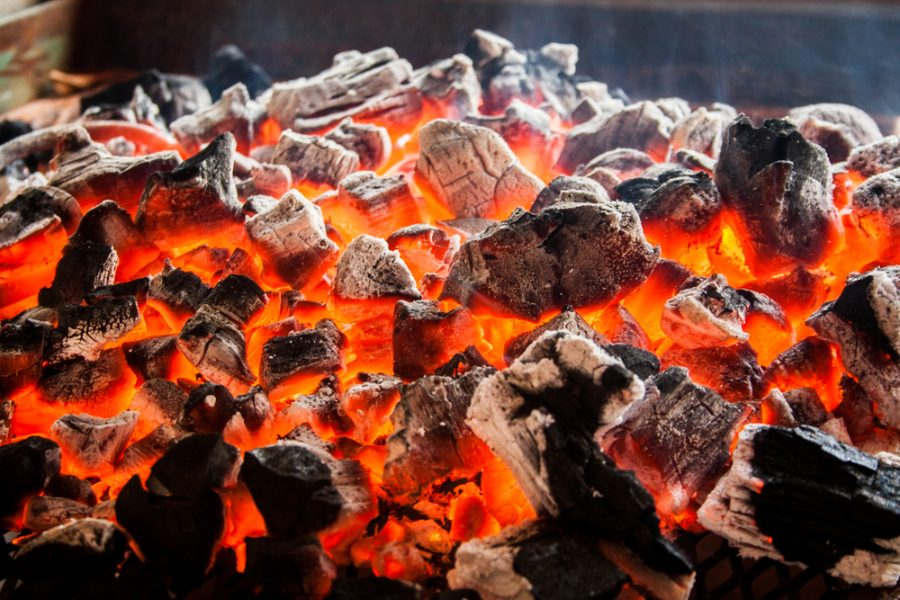where to place a charcoal bbq